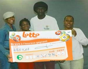 gagnant lotto pendule